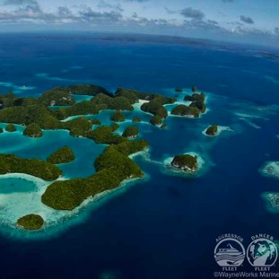séjour plongée dans le Pacifique