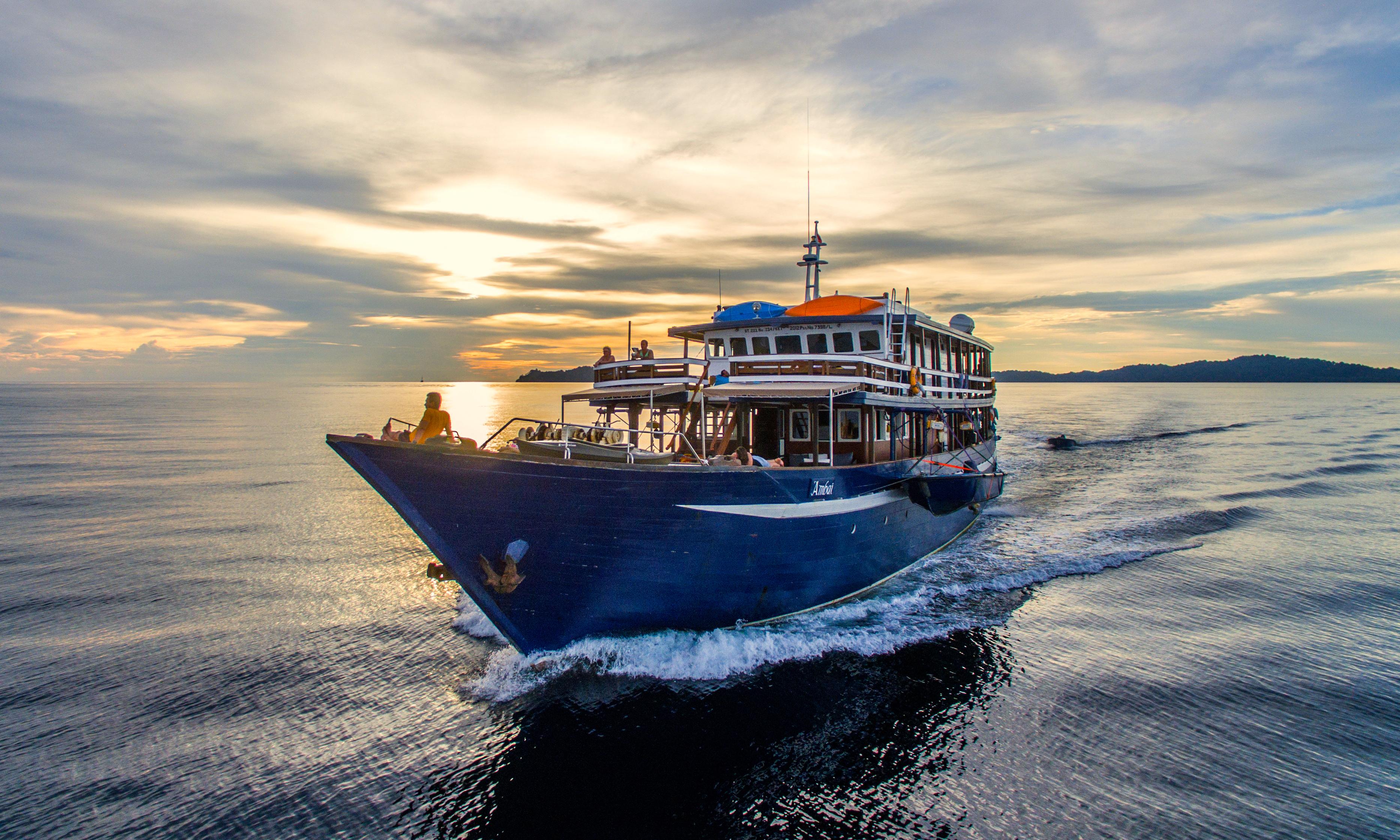 Croisière plongée en Indonésie à bord des MSY SEAHORSE et MV AMBAI