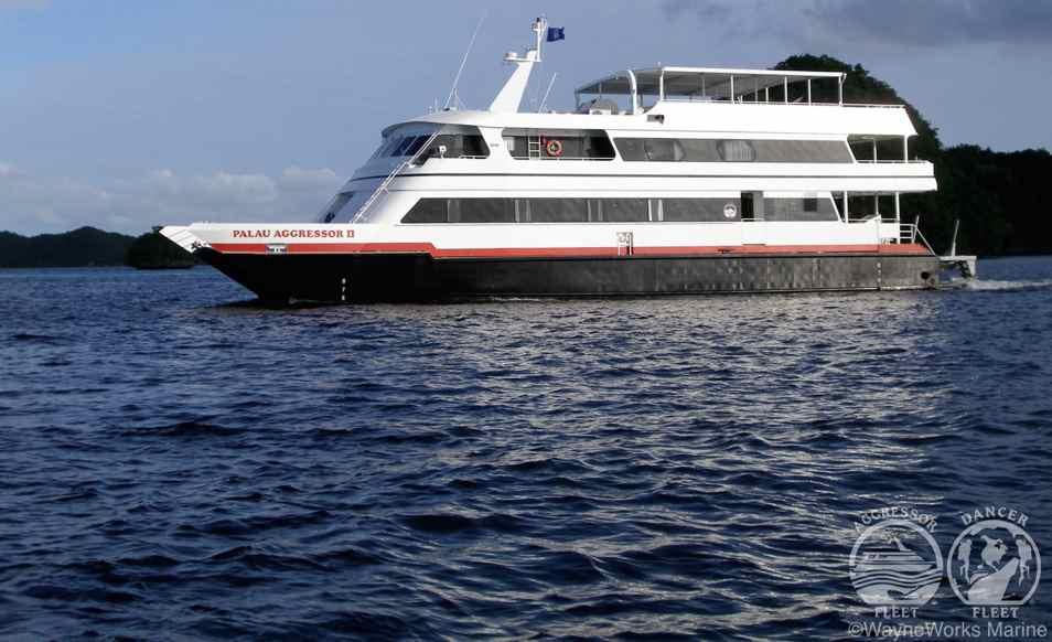 Croisière plongée en Micronésie à Palau à bord des bateaux Palau Aggressor