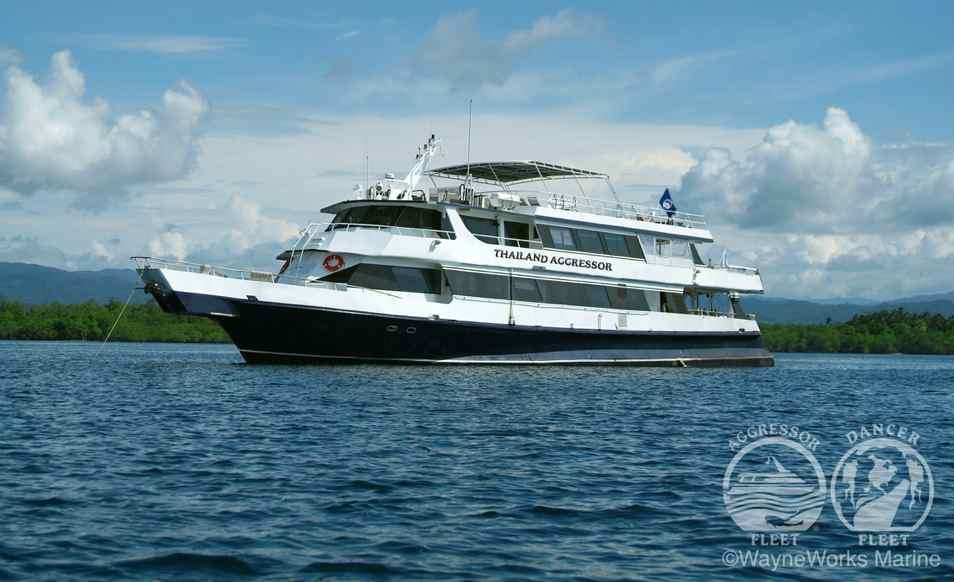 Croisière plongée en Thailande à bord du M/V Thailand Aggressor