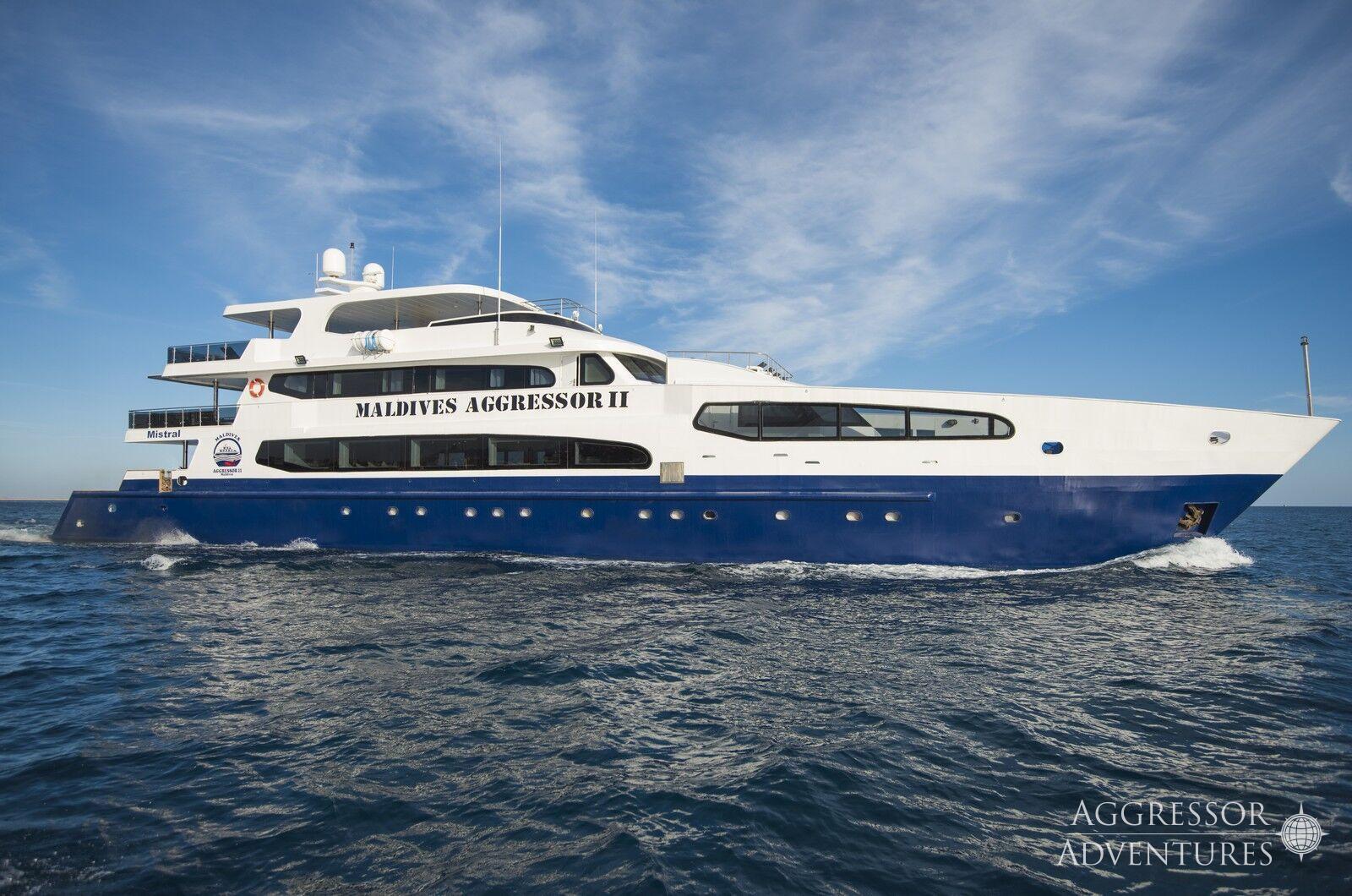 Croisière plongée aux Maldives à bord du Maldives Aggressor II