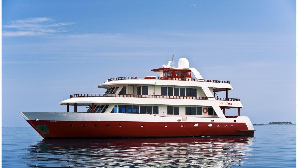 Croisière plongée aux Maldives à bord du Theia